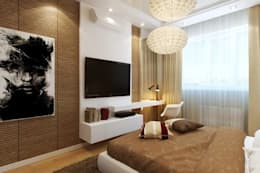 Interior designs: modern Bedroom by Optimystic Designs