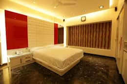 Interior Designs: modern Bedroom by Ornate Consultants