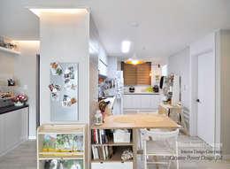 수원 정자동 한라비발디 27평: JMdesign 의  다이닝 룸
