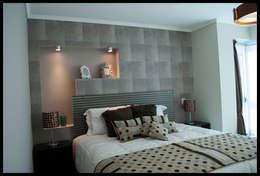 Dormitorio de Reyes...: Dormitorios de estilo ecléctico por Diseñadora Lucia Casanova