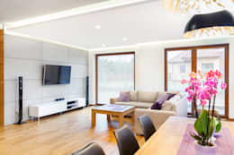 modern Living room by IN