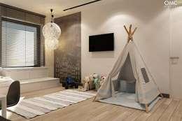 Dormitorios infantiles de estilo minimalista por OMCD Architects