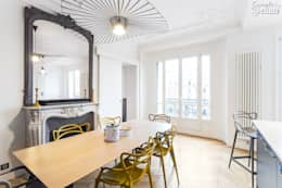 salle à manger design: Salle à manger de style de style Moderne par Carnets Libellule