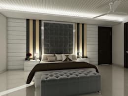Interior Designs: modern Bedroom by The Silversea