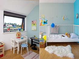 scandinavian Nursery/kid's room by gondesen architekt