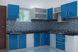 Kitchen designs: modern Kitchen by Splendid Interior & Designers Pvt.Ltd