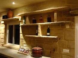 Bodegas de vino de estilo  por LuisyAnacb