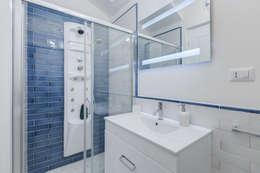 Projekty,  Łazienka zaprojektowane przez Luca Tranquilli - Fotografo