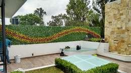 : Jardines de estilo moderno por AQ3 Arquitectos