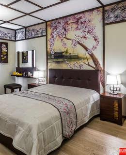 Квартира-путешествие.: Спальни в . Автор – Fusion Design