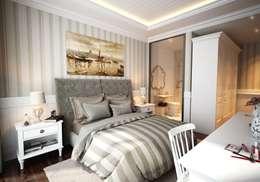 classic Bedroom by Cg Artist ibrahim ethem kısacık