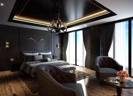 Dormitorios de estilo  por Cg Artist ibrahim ethem kısacık
