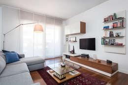 Projekty,  Salon zaprojektowane przez zero6studio - Studio Associato di Architettura