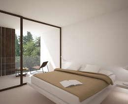 minimalistic Bedroom by Nuam