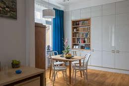 Salon i jadalnia: styl , w kategorii Jadalnia zaprojektowany przez Jacek Tryc-wnętrza