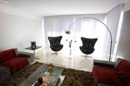 Salas de estilo moderno por Patrícia Azoni Arquitetura + Arte & Design