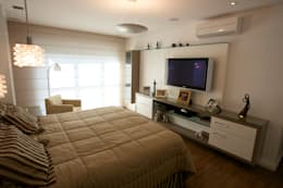 modern Bedroom by Patrícia Azoni Arquitetura + Arte & Design