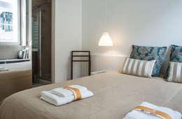 Un appartamento che sfrutta fino all 39 ultimo centimetro - Camera da letto soppalcata ...