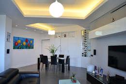 modern Living room by tizianavitielloarchitetto