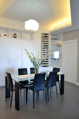 modern Dining room by tizianavitielloarchitetto
