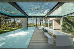 Projekty,  Taras zaprojektowane przez guedes cruz arquitectos