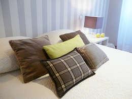 mediterranean Bedroom by maria inês home style