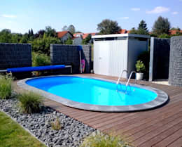 swimmingpool im garten 6 budgetfreundliche ideen. Black Bedroom Furniture Sets. Home Design Ideas