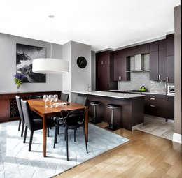 Penthouse: Cuisine de style de style Moderne par ANNA DUVAL
