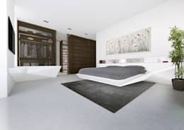 modern Bedroom by Who Cares?! Design