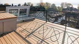 Terrazas de estilo  por Fastarch Architekturbüro eth/sia