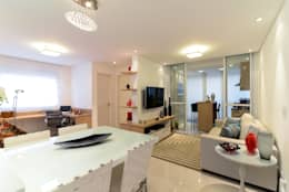 modern Living room by RAFAEL SARDINHA ARQUITETURA E INTERIORES