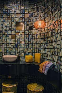 Projekty,  Łazienka zaprojektowane przez JUANCHO GONZALEZ