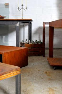 Salas de estilo industrial por Insolid Corten Bcn