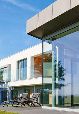 Sandhills Glazing Exterior:  Windows  by Barc Architects