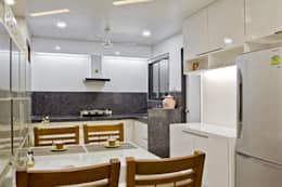 SPARSH: modern Kitchen by PADARRPAN ARCHITECTS