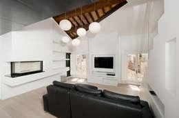 Projekty,  Salon zaprojektowane przez Cumo Mori Roversi Architetti