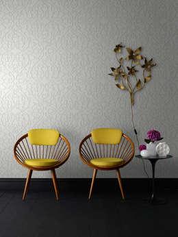 """GRAHAM & BROWN """"MARCEL WANDERS ILLUSIONS"""": Paredes y pisos de estilo moderno por Escuadra Arquitectura C.A"""