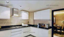 Kitchen designs: modern Kitchen by ZED Associates Pvt. Ltd.