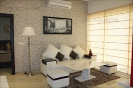 Living Area Designs: modern Living room by ZED Associates Pvt. Ltd.