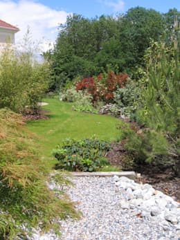 Jardins : Jardin de style de style Classique par Scènes d'extérieur