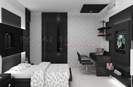 Bedroom Designs: modern Bedroom by Royal Rising Interiors