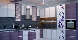 Interior Designs: modern Kitchen by Royal Rising Interiors