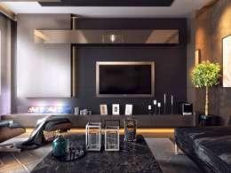 Ruang Keluarga by VERO CONCEPT MİMARLIK