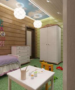 Chambre d'enfant de style de stile Rural par Студия дизайна Виктории Силаевой