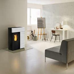 Salas de estilo moderno por RIKA Innovative Ofentechnik GmbH