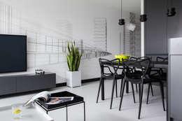 Salas / recibidores de estilo minimalista por WERONIKA TROJANOWSKA photographer