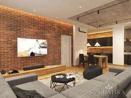 Salas de estilo industrial por variatika