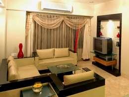 Hiranis: modern Living room by Studio Vibes