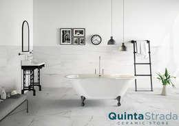 Parede e piso  por Quinta Strada - Ceramic Store
