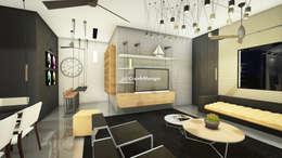 Residential Interiors: modern Living room by Crush Mango